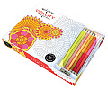 Vive Le Color Vitality Coloring Book & Pencils Color Therapy Kit