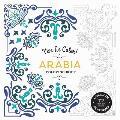 Vive Le Color Arabia Coloring Book Color In de Stress 72 Tear Out Pages