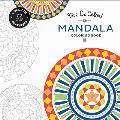 Vive Le Color Mandala Coloring Book Color In de Stress 72 Tear Out Pages