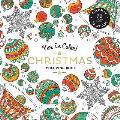 Vive Le Color Christmas Adult Coloring Book Color In de Stress 72 Tear Out Pages
