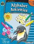 Ready Set Learn Alphabet Activities Prek K
