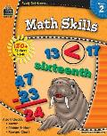 Ready Set Learn Math Skills Grd 2 With 180+ Stickers