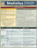Statistics Equations & Answers Laminated Reference