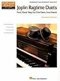 Joplin Ragtime Duets Four Classic Rags for One Piano Four Hands