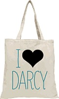 I Heart Darcy Babylit(r) Tote
