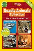 National Geographic Readers Deadly Animals Collection
