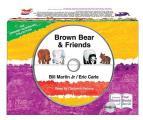 Brown Bear & Friends board book & CD set