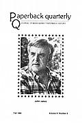 Paperback Quarterly (Vol. 3 No. 3) Fall 1980
