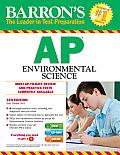 Barron's AP Environmental Science , 5th Edition [With CDROM] (Barron's AP Environmental Science)