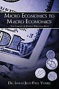 Micro Economics to Macro Economics: The Concept of Market Exchange Rate