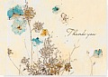 Ty Note Watercolor Flowers
