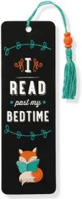 I Read Past My Bedtime Beaded Bookmark