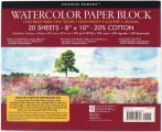 Studio Series Watercolor Paper Block