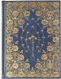 Gilded Rosettes Ruled Journal