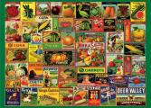 Vintage Seed Packets 1000 Piece Jigsaw Puzzle