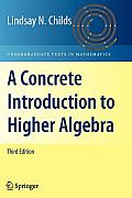 Concrete Introduction To Higher Algebra