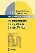 Mathematical Theory Of Finite Element Methods