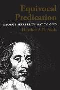 Equivocal Predication: George Herbert's Way to God
