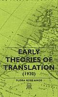 Early Theories of Translation (1920)