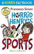 A Horrid Factbook: Horrid Henry Sports