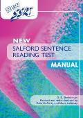 New Salford Sentence Reading Test: Manual