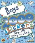 2000 Stickers Book