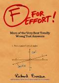 F for Effort