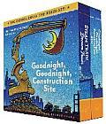 Goodnight Goodnight Construction Site & Steam Train Dream Train Board Books Boxed Set