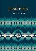 Art of Pendleton Postcard Box 100 Postcards