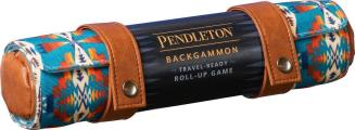 Pendleton Backgammon: Travel-Ready Roll-Up Game (Camping Games, Gift for Outdoor Enthusiasts)