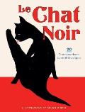 Le Chat Noir 20 Correspondence Cards & Envelopes