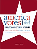 America Votes 30: 2011-2012, Election Returns by State