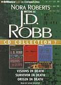 J D Robb CD Collection 7 Visions in Death Survivor in Death Origin in Death
