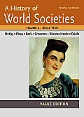 History Of World Societies Value Volume Ii Since 1450