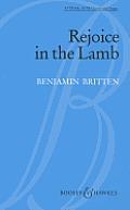 Rejoice In The Lamb Op 30 1943 Satb