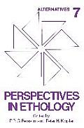 Perspectives in Ethology: Volume 7 Alternatives