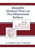 Integrable Geodesic Flows on Two-Dimensional Surfaces