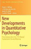 New Developments in Quantitative Psychology: Presentations from the 77th Annual Psychometric Society Meeting