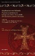 Epiphanius Von Salamis, Uber Die Zwolf Steine Im Hohepriesterlichen Brustschild (de Duodecim Gemmis Rationalis): Nach Dem Codex Vaticanus Borgianus AR