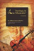 Antologia de Obras Musicales: Comentarios