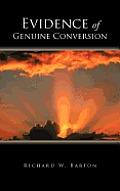 Evidence of Genuine Conversion