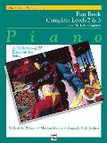 Alfred's Basic Piano Library Fun Book Complete, Bk 2 & 3: For the Later Beginner (a Collection of 27 Entertaining Solos)