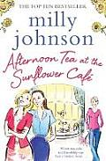 Afternoon Tea at the Sunflower Cafe uk edition