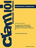 Studyguide for Essentials of Mathematics: An Applied Approach by Aufmann, Richard N.