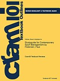 Studyguide for Contemporary Sport Management by Pedersen, Paul