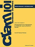 Studyguide for an Introduction to American Law by McAlinn, Gerald