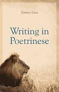 Writing in Poetrinese