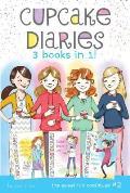 Cupcake Diaries 3 Books in 1 Alexis & the Perfect Recipe Katie Batter Up Mias Bakers Dozen
