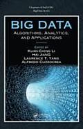 Big Data: Algorithms, Analytics, and Applications