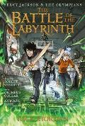Percy Jackson & the Olympians 04 The Battle of the Labyrinth The Graphic Novel